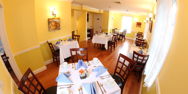 Mulberry House Restaurant & Tea House – Westfield, NJ Yellow Private Dining Room