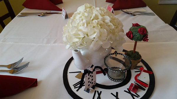 Magnificent Tea Party Bridal Shower Table Decor Ideas Mulberry House Interior Design Ideas Clesiryabchikinfo